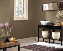 bathroom plain white wall paint flower painting with light
