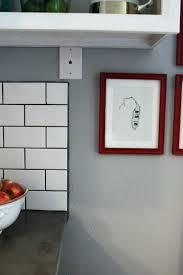 tile backsplash install kitchen installing subway tile installing