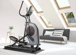 hop sport elliptical crosstrainer hs 100c galaxy unterlegmatte grau