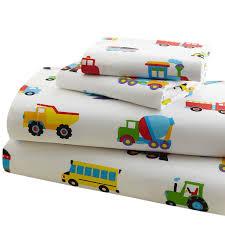Amazon.com: Olive Kids Trains, Planes, Trucks Full Sheet Set: Toys ...