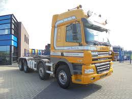 Sunkvežimių Su Keliamuoju Kabliu DAF CF85.480 8x2 / Euro 3 / Manual ...