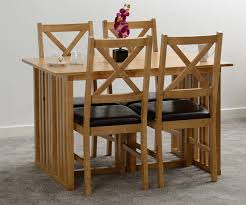 Seconique Richmond Foldaway Oak Varnish Dining Table Only