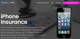 iPhone insurance UK News all models from £4 99