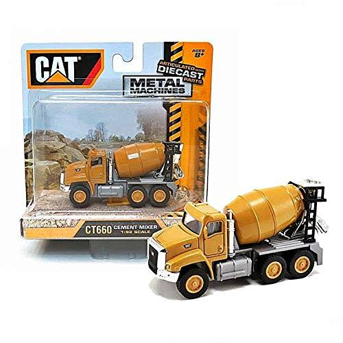 Caterpillar Cement Mixer Toy - 1/92 Scale
