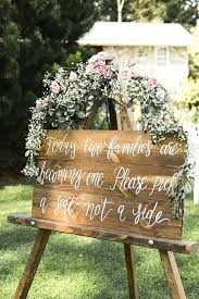 Rustic Wedding Seating Sign Pick A Seat Not Side Decor
