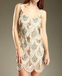 angela sequin tear drop dress gold