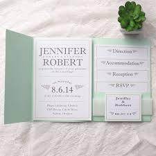 Pocket Wedding New 796eeeed050131d80551b7081f5f1e56 Invitation Inserts Mint