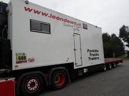 100 Rally Truck For Sale Van Eck Mobilehomeworkshoprally Trailer Low Bed Semitrailers For