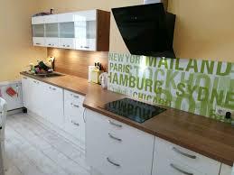 küche einbauküche burger hochglanz weiß mit geräten