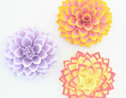 How To Make A Paper Dahlia With Pictures