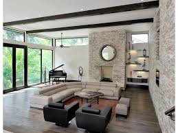 Houzz Living Room Rugs by Window Wall Yellow Armchairs High Ceiling My Houzz Horizontal