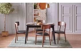 pedre esszimmer set tisch 4 stühlen