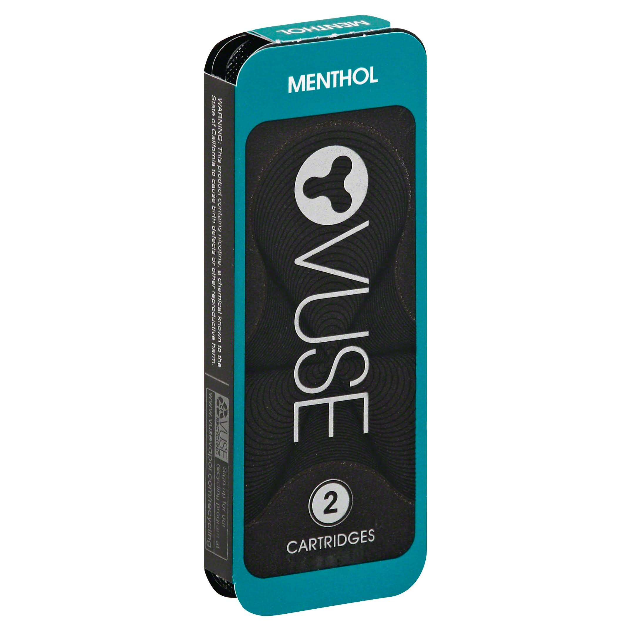 Vuse Cartridges, Menthol - 2 cartridges