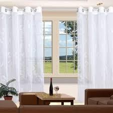 langstore filia stickereistore ösenschal fertigstore gardine vorhang weiß