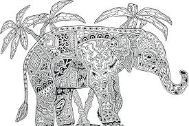 Coloring Pages Online Mandala Free Book For Adults Animals Disney Baby Full Size