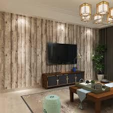 hanmero 3d vintage weiß gestreiften holz tapete chinesischen retro stil wohnzimmer hintergrundbild qz0453