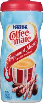 Coffee Mate Powdered Creamer Peppermint Mocha 15