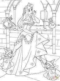 Princess Aurora With Good Fairies