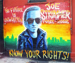 know your rights the future is unwritten and joe strummer 1952