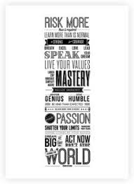 Robin Sharma Life Motivating Quotes Typography Poster Paper Print