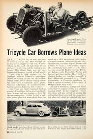 100 Chalks Truck Parts 1951 Article Tricycle Car Lloyd Hunt Edison Ford Brakes Chrysler
