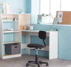 bureaux d angle pas cher leclerc bureau d angle avec étagère à 52