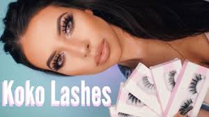 Koko Lashes Collection Try On & Review | The Best Affordable High Quality  Lashes