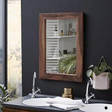 dekoration spiegel wandspiegel bad flur holz modern martina