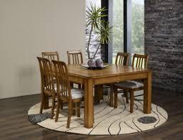table de salle à manger 140 140 contemporaine en chêne meuble en