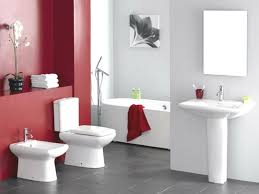 Yellow And Gray Bathroom Set by Bathroom Design Awesome Red And White Bathroom Ideas White