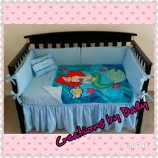 Little Mermaid Bed Set by Crib Bedding Mermaid Baby Crib Design Inspiration