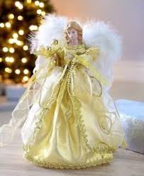 Black Angel Christmas Tree Topper Uk by Christmas Tree Angel Topper Ebay