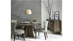 crate and barrel dining room chairs chair cushions paloma table