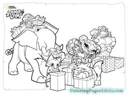 Animal Jam Coloring Pages Tocan