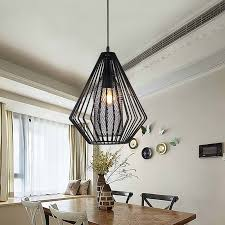 industrial fixtures modern 5w led bulb pendant lights dining room
