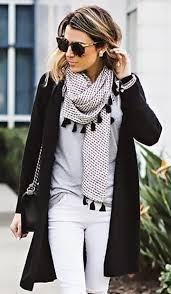 27 Must Wear Winter Outfits With Scarf Accessories