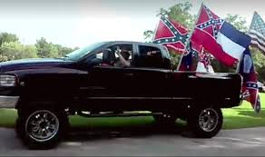 100 Rebel Flag Truck Fans Face Gang Charge For Crashing Black Kids Party