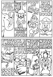 Beautiful Bookmarks Coloring Pages 47 In Free Colouring With