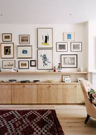 Neil Dusheiko Creates Home For Father In Law Featuring A Wall Of Art Architects LondonBedroom WallLiving Room