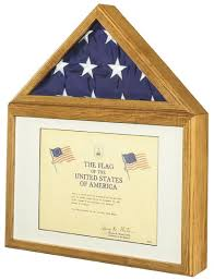 Description The Capitol Flag Certificate Display Case