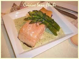 cuisiner pavé de saumon poele pavés de saumon en sauce d asperges