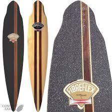 Types Of Longboard Decks by G U0026s Fibreflex Pintail 44 Skateboard Longboard Deck U0026 Grip Gordon