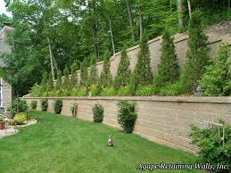 Excellent Small Backyard Retaining Wall Photo Inspiration - Amys ... Outdoor Wonderful Stone Fire Pit Retaing Wall Question About Relandscaping My Backyard Building A Retaing Backyard Design Top Garden Carolbaldwin San Jose Bay Area Contractors How To Build Youtube Walls Ajd Landscaping Coinsville Il Omaha Ideal Renovations Designs 1000 Images About Terraces Planters Villa Landscapes Awesome Backyards Gorgeous In Simple