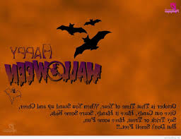 Short Poems About Halloween by Cards Happy Halloween Messages