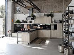 cuisine industrielle industrielle étagères métalliques