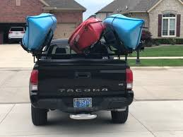 Recommendations For A Sort Of Kayak/canoe Rack Thing? | Tacoma Forum ... Canoekayak Racks For Your Taco Tacoma World Homemade Canoe Carrier Pickup Truck Inspirational Custom Big Foot Pro Bwca Rack Help Boundary Waters Gear Forum Kayak Storage Pulley System Haing Outdoor Solutions Crewcab With Topper Transport Question 2c Boat Roof Rack Car Top Mount J Cross Car And Bike Carriers Darby Extendatruck W Hitch Mounted Load Extender 33 Holder For Your Attack Best Canoe Hauling Vehicle Wcha Forums