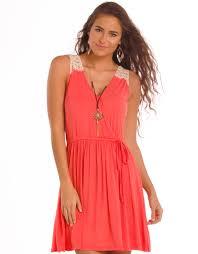 rock u0026 roll cowgirl women u0027s sleeveless lace dress orange