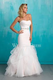 white tulle mermaid zipper dress to wear to beach wedding
