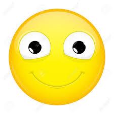 Smiling Emoji Good Emotion Happy Emoticon Illustration Smile Icon Stock Vector