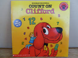 Clifford Halloween Book by Count On Clifford The Big Red Dog Book 1986